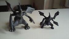 """JAKKS Pacific Pokemon Deluxe Gray Zekrom Large Figure 5"""" Tall"""