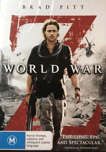 World War Z (New and Sealed, Region 4) Brad Pitt