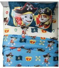 Paw Patrol Bedding Set New Twin Size Sheets Set And Comforter Pirate Pups 4 Pc