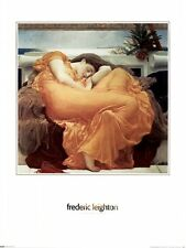 Flaming June by Frederic Lord Leighton Art Nouveau Art Print Poster 24x30