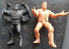 UK Exclusive Original WCW Galoob Dustin Rhodes & Sting Wrestling Figures Hasbro