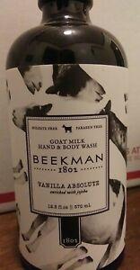 Beekman12.5oz Vanilla Absolute Hand & Body Wash with Pump