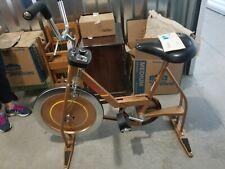 Vintage Schwinn Copper Finish Mid Century Look Stationary Exercise Bike