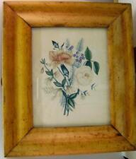 FLOWERS A POSY iN A MAPLE FRAME FRANCES COGDON (ATTRIB) W/COL ENG SCHOOL 1833