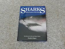 SHARKS Silent Hunters of the Deep Reader's Digest Hardcover Book w/ Dust Jacket