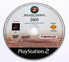 Sony PLAYSTATION 2 PS2 SMASH COURT TENNIS ROLAND GARROS 2005 Namco SCES-53310