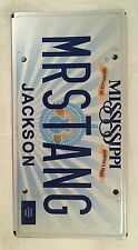 MS vanity MR STANG MUSTANG license plate