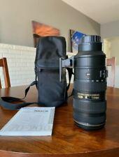 Nikon AF-S NIKKOR 70-200mm f/2.8G ED VR II Lens