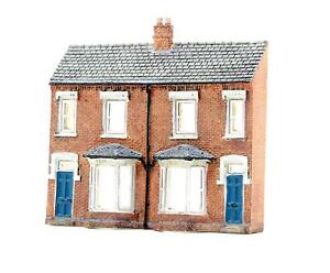 GRAHAM FARISH 'N' GAUGE 42-202 LOW RELIEF FRONT TERRACED HOUSE SCALE BUILDING