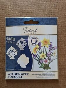 Tattered Lace Wildflower Bouquet Cutting Die