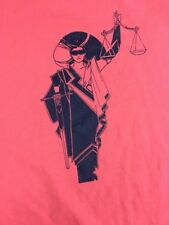 VTG Hanes District Attorney County Of Riverside Tee Shirt Size Large 80's