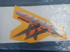 HONDA CBR1100XX Superblackbird Seitenverkleidung Dekor neu 64419MATD70ZC