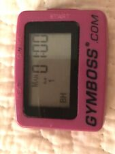 gymboss interval timer Pink Training Workout