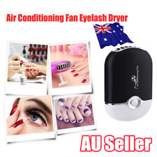 Handheld USB Air Conditioning Fan Lashes Dryer Eyelash Extension Glue Blower EA
