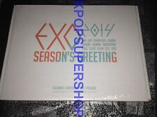 Exo Exo-K Exo M Calendar DVD 2014 Seasons Greetings Official Merchandise NEW