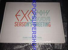 Exo Exo-K Exo M Calendar DVD 2014 Seasons Greetings Official Merchandise NEW