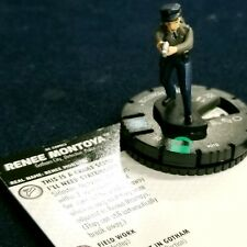 028 Uncommon DC HeroClix M//NM with Card Harley Quinn and the G Renee Montoya