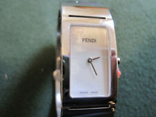 427 ladys FENDI stainless steel bangle bracelet watch