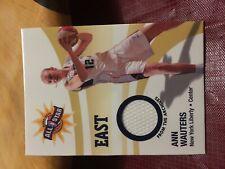 2006 WNBA Relic Ann Wauters White Swatch