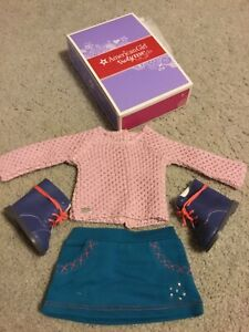 American Girl Doll Sparkle Sweater School Outfit Retired 2015