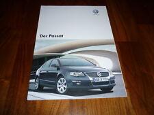 VW Passat Prospekt 10/2007