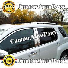 Fit 2010 2011 2012 2013 2014 2015 2016 2017 GMC TERRAIN Chrome Pillar Post 6PCS