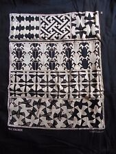 MC ESCHER  Vintage T Shirt 90's Black Graphic Art Illusion PSYCHEDELIC ABC 123