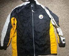 Vintage Pittsburgh Steelers Starter Windbreaker XL NFL Football 90s Nylon  ZIP 63912c807