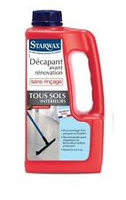 DECAPANT SANS RINCAGE CARRELAGE SALISSURE 1 LITRE STARWAX 466