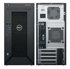 NEW Dell PowerEdge T30 Tower Server Intel Xeon E3-1225 v5 3.3GHz 8GB 1TB No OS
