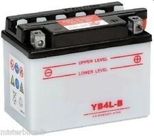 Batterie CB4LB YB4LB 12V 4 AH Scooter Mobylette Cyclomoteur Peugeot Derbi AM6