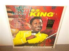 * B.B. King . Blues In My Heart . 180 Gr. New Sealed . Jazz . LP