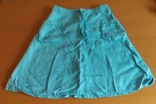 WOMENS H&M BLUE SKIRT  SIZE 10
