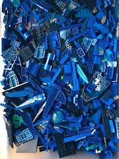 100+ BLUE LEGO PIECES FROM HUGE BULK LOT PARTS @ RANDOM LBS LB