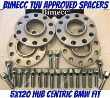 Alloy Wheel Spacers 15mm Bmw X3 X4 F25 F26 M14X1.25 + Extended Bolts S Bimec