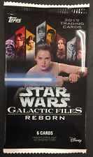 AUTOGRAPH! Hot Pack 2017 Topps Star Wars Galactic Files Reborn Auto Card