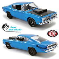 ACME 1:18 - 1969 Plymouth Hemi Cuda Street Fighter (Blue)