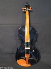 """Solid wood Beautiful Black color  electric & acoustic viola 15"""" solid wood"""