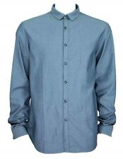 C'N'C (Costume National) textured slim fit shirt navy