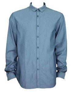 C'N'C (Costume National) textured slim fit shirt navy