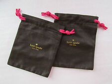 Kate Spade New York Jewelry Bag Brown Pink Gold NEW