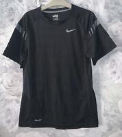 Boys Age 10-12 Years - Nike Drifit T Shirt - Black