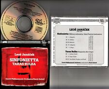 FIDELIO 1858 WG- JANACEK- Sinfonietta / Taras Bulba KAREL ANCERL CPO CD **NM**