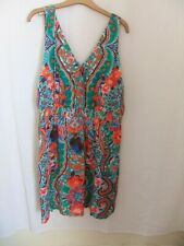 next multicoloured SUMMER BEACH DRESS BNWT SZ 20