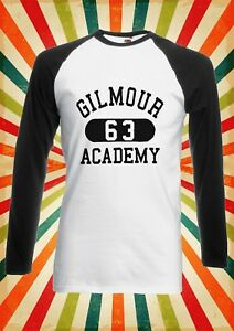 Gilmour 63 Academy Retro Funny Men Women Long Short Sleeve Baseball T Shirt 1820