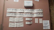 NOS 1994 FORD MUSTANG SVT COBRA CONVERTIBLE INDIANAPOLIS PACE CAR DECAL SET