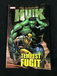 Marvel The Incredible Hulk Tempest Fugit Graphic Novel Softcover Comic Book