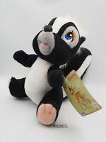 "Bambi Flower Skunk B0803 Disney SEGA 1997 Plush 7"" TAG Stuffed Toy Doll Japan"