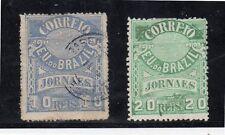 Brasil Sellos para Periodicos del año 1891-94 (DE-362)