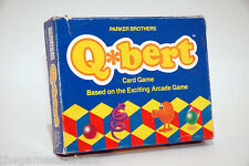 Q Bert Card Game Parker Brothers 1983 with NEW PARTS
